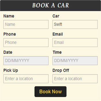 Car Rental Script